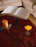 Romantische Tabelle Lizenzfreies Stockbild