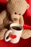 Romantische Teddybeer Royalty-vrije Stock Afbeelding