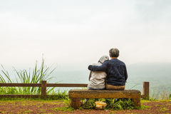 Romantische Umarmung Stockbild