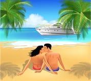 Romantische vakantie Stock Fotografie