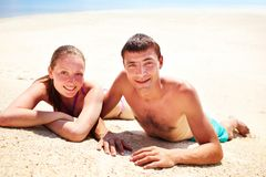 Romantische vakantie stock foto