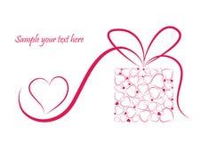 Romantische valentijnskaartachtergrond Stock Foto's
