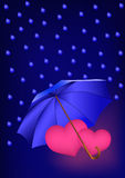 Romantische valentijnskaartachtergrond Royalty-vrije Stock Fotografie