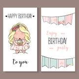 Romantische van de Uitnodigingsaankondiging of gelukwens kaart Royalty-vrije Stock Afbeeldingen
