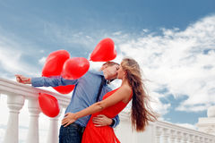 Romantische Verpflichtung Lizenzfreies Stockfoto