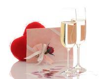 Romantische verrassing Royalty-vrije Stock Foto