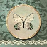 Romantische vlinder Royalty-vrije Stock Afbeelding
