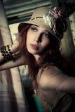 Romantische vrouw Royalty-vrije Stock Fotografie