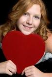 Romantische Vrouw Royalty-vrije Stock Foto's