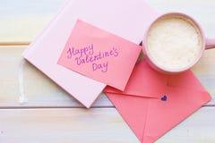 Romantische Zusammensetzung mit Kaffee lizenzfreies stockfoto