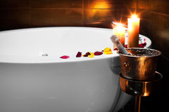 Romantischer Badekurort Stockfotografie