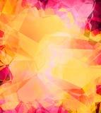 Romantischer abstrakter Hintergrund. Lizenzfreies Stockfoto