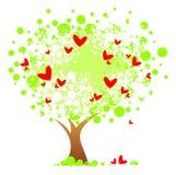Romantischer Baum Lizenzfreies Stockfoto