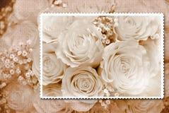 Romantischer Blumenstrauß Lizenzfreies Stockbild