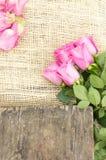 Romantischer Blumenstrauß von ekuadorianischen rosa Rosen Lizenzfreie Stockfotografie