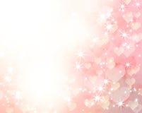Romantischer Hintergrund stock abbildung
