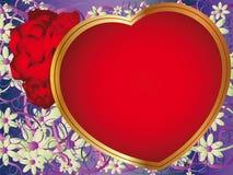 Romantischer Hintergrund Lizenzfreies Stockbild