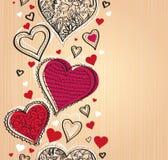 Romantischer Hintergrund Stockfotografie