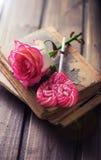 romantischer Hintergrund Stockfoto