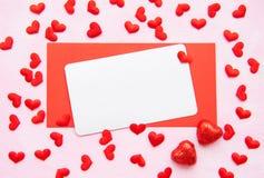 Romantischer Hintergrund des Valentinstags stockbilder