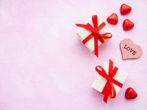 Romantischer Hintergrund des Valentinstags lizenzfreies stockbild