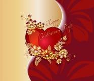 Romantischer Hintergrund für Valentinsgrußtag Lizenzfreies Stockbild