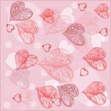 Romantischer Hintergrund - Vektor Lizenzfreie Stockbilder