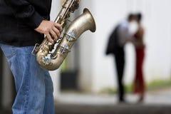 Romantischer Jazz Stockbild