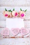 Romantischer Liebeshintergrund Stockbilder