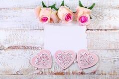 Romantischer Liebeshintergrund Stockfotografie