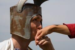 Romantischer Ritter Stockbild