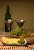 Romantisches Abendessen für zwei Lizenzfreies Stockfoto