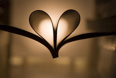 Romantisches Buch der Liebe Stockbild