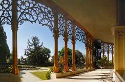 Romantisches Chateau, Hluboka, Tschechische Republik Stockbilder
