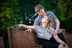 Romantisches Datum Lizenzfreie Stockfotografie