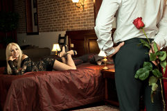 Romantisches Datum Lizenzfreies Stockfoto