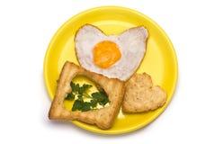 Romantisches Frühstück Lizenzfreie Stockfotos