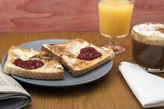Romantisches Frühstück Stockbilder