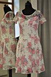 Romantisches Frauenkleid Stockfoto