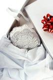Romantisches Geschenk. Lizenzfreies Stockbild
