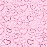 Romantisches nahtloses Muster Lizenzfreie Stockfotografie