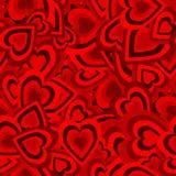 Romantisches nahtloses Muster Lizenzfreie Stockbilder