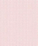 Romantisches nahtloses Muster Muster mit Herzform vektor abbildung