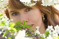 Romantisches Portrait Lizenzfreie Stockfotos