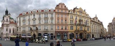 Romantisches Prag Stockfotografie