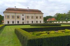 Romantisches Renaissance-Chateau Kratochvile. Stockbilder