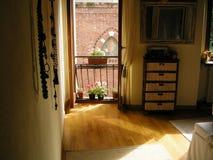 romantisches Schlafzimmer des Ambientes Lizenzfreie Stockbilder