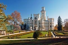 Romantisches Schloss lizenzfreie stockfotos