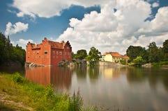Romantisches Schloss stockfotografie