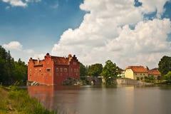 Romantisches Schloss stockfotos